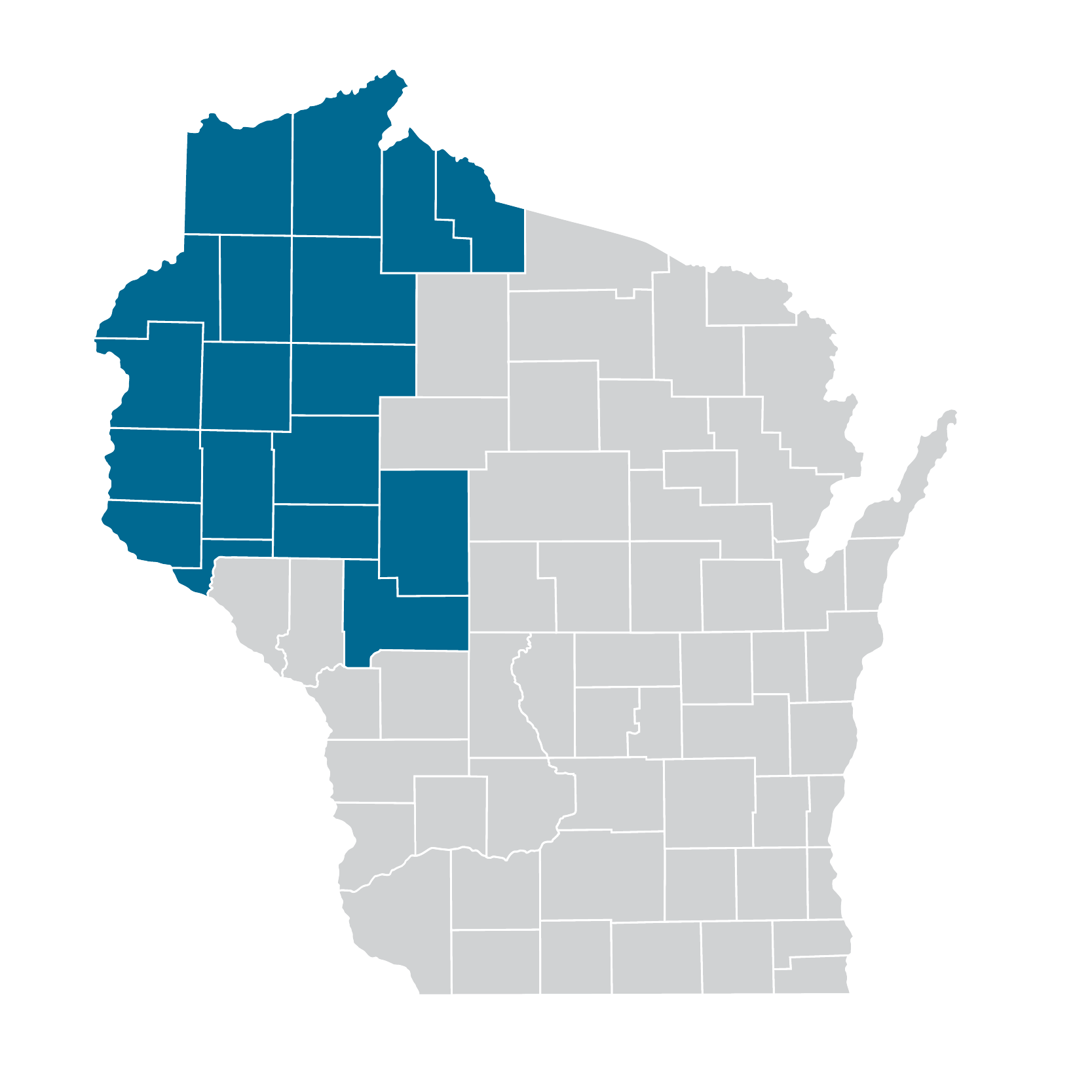 West Chippewa Valley Map